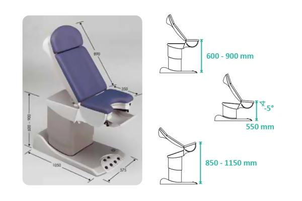 Уродинамическая Система Ellipse Chair